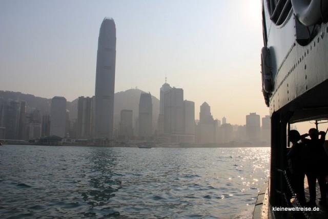 Skyline von der Star Ferry aus gesehen
