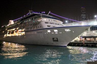 am Hafen bei Nacht