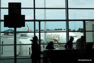 Am Flughafen: Boeing 777