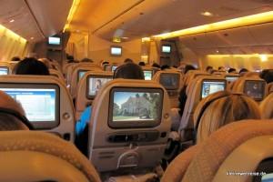 Economy Kabine Boeing 777-300 ER
