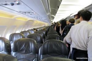 Kabine Jetstar Pacifc A320