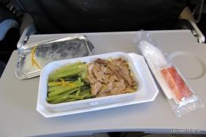 das Essen an Bord