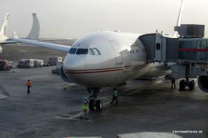Der Airbus A300 in Abu Dhabi