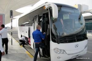 Der Bus nach Dubai