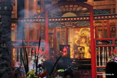 im Long Shan Tempel