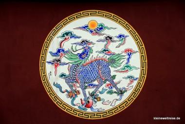 im Konfuziustempel