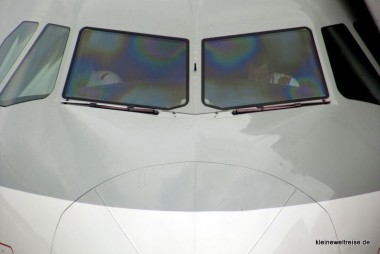 Cockpit A320 Qatar Airways