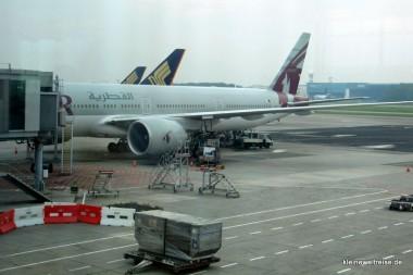 Boeing 777 in Singapur