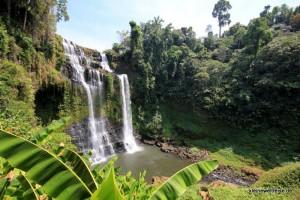 Wasserfall in Laos