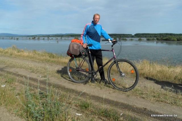Jens mit seinem aktuellen Fahrrad