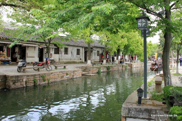 Kanal in Tongli