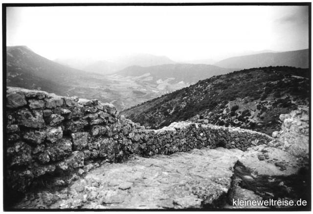 Steinstufen in Südfrankreich