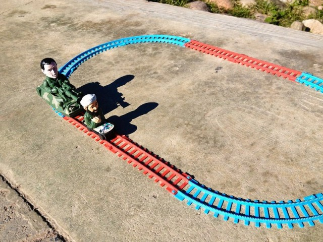 Bin Landen und Busch Spielzeug in Marrakesch