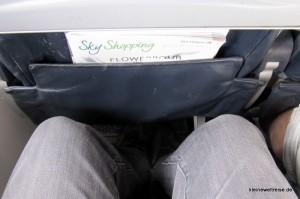 Sitzabstand bei Aer Lingus