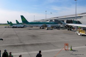 Aer Lingus Maschinen am Flughafen Dublin