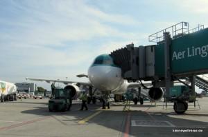 Airbus am Gate
