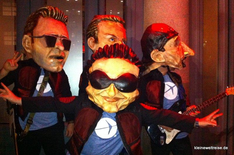 U2 auf der Party