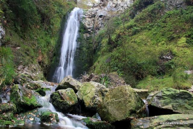 Glenevin Wasserfall in Irland