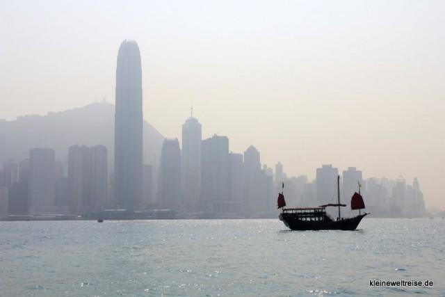 Dunst in Hongkong
