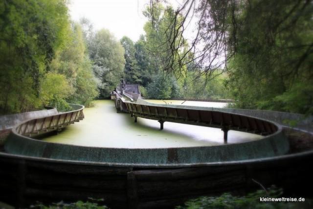 die alte Wildwasserbahn