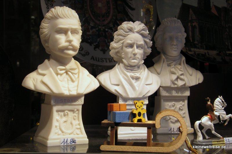 Strauss, Beethoven und Mozart