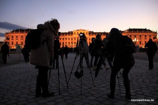 Fotosession in Schönbrunn