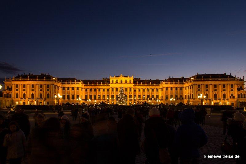 Schloss Schönbrunn: Christkindlmarkt