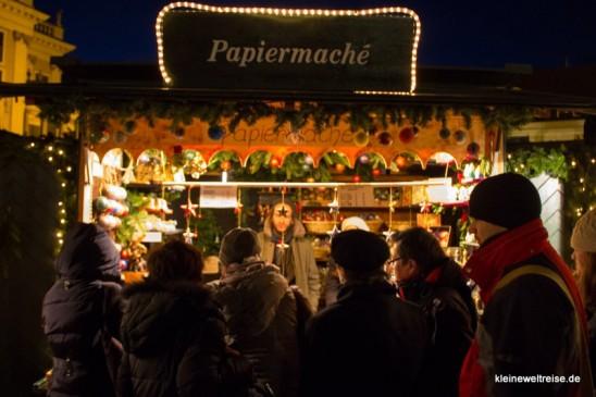 Bude auf dem Weihnachtsmarkt