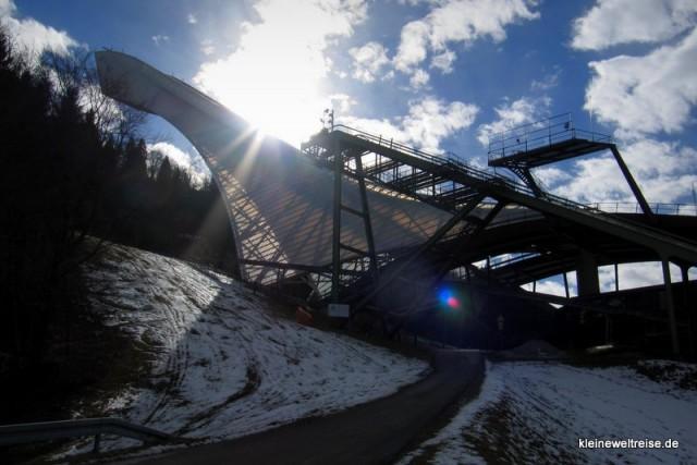 Skischanze in Garmisch