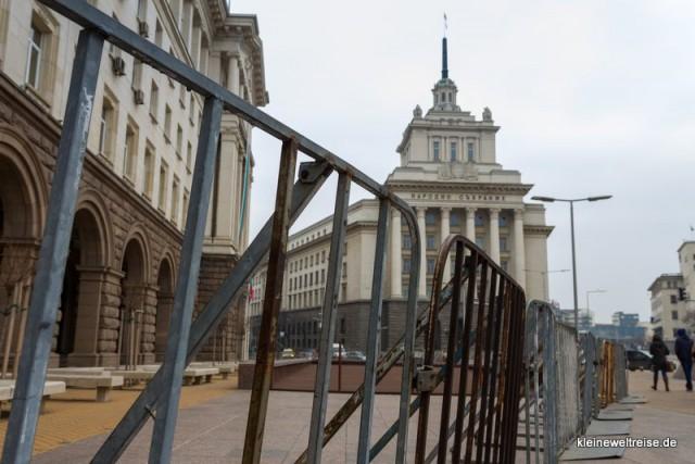 alte Sowjet-Architektur