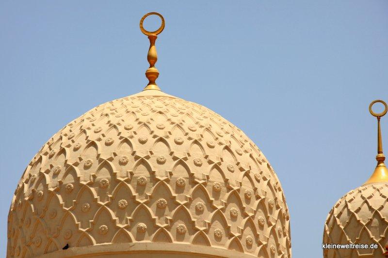 Kuppeln der Jumeirah Moschee