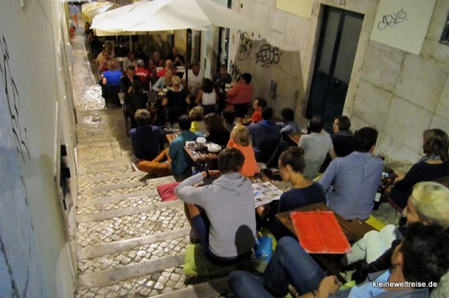 Abends im Barrio Alto