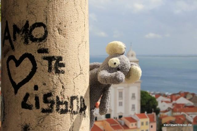 Fanta liebt Lissabon