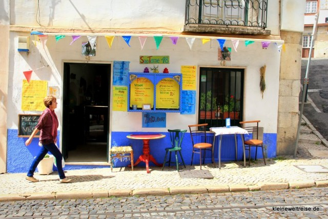 Cafe in der Alfama