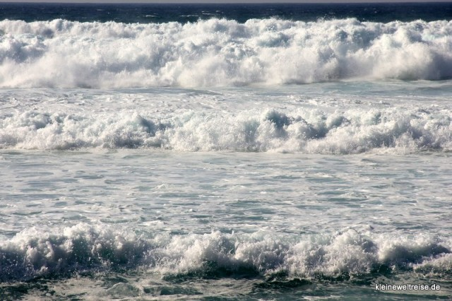 Wellen am Atlantik