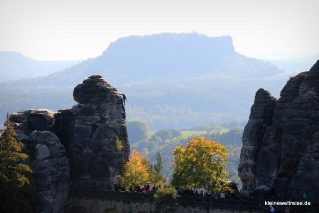 Bastei und Elbsandsteingebirge