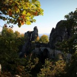 Die Bastei im Elbsandsteingebirge