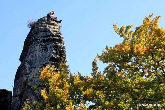 oben aufm Fels