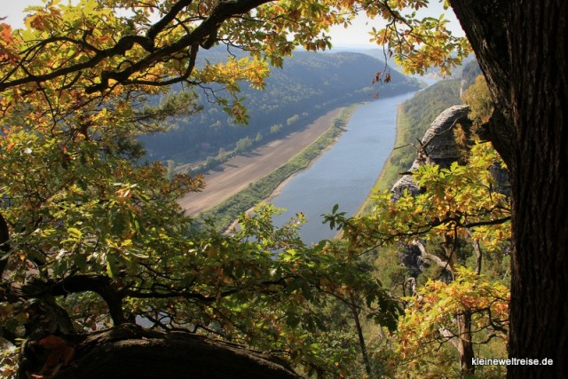Der Blick auf die Elbe 3