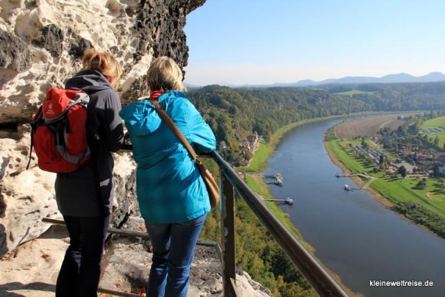 Der Blick auf die Elbe 2