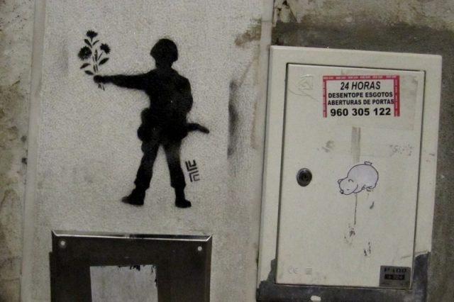 Stencil in Chiado
