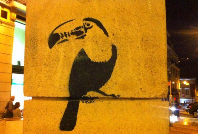 Tucan in Lissabonn