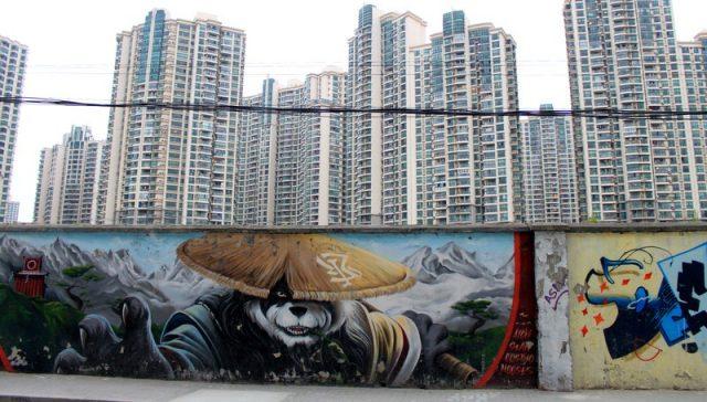 Moganshan Rd in Shanghai