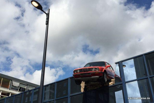 BMW -Unfall = Kunst