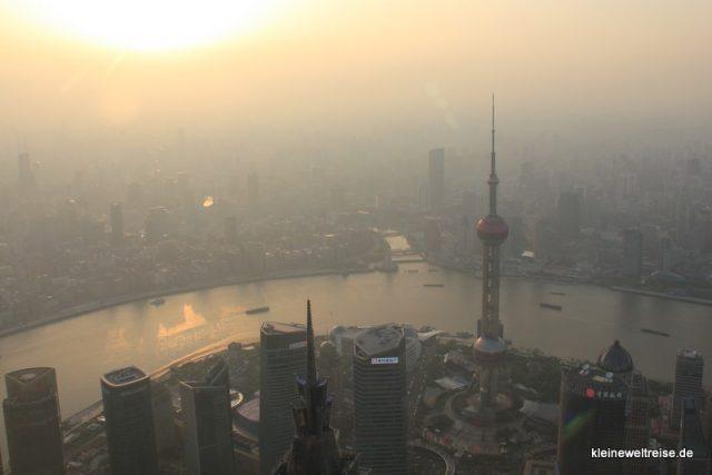 Aussicht über Shanghai